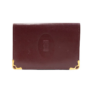 Cartier Red Leather Wallet
