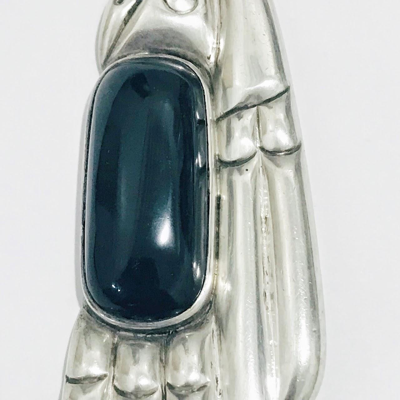 William Spratling Sterling Silver Thunderbird Brooch