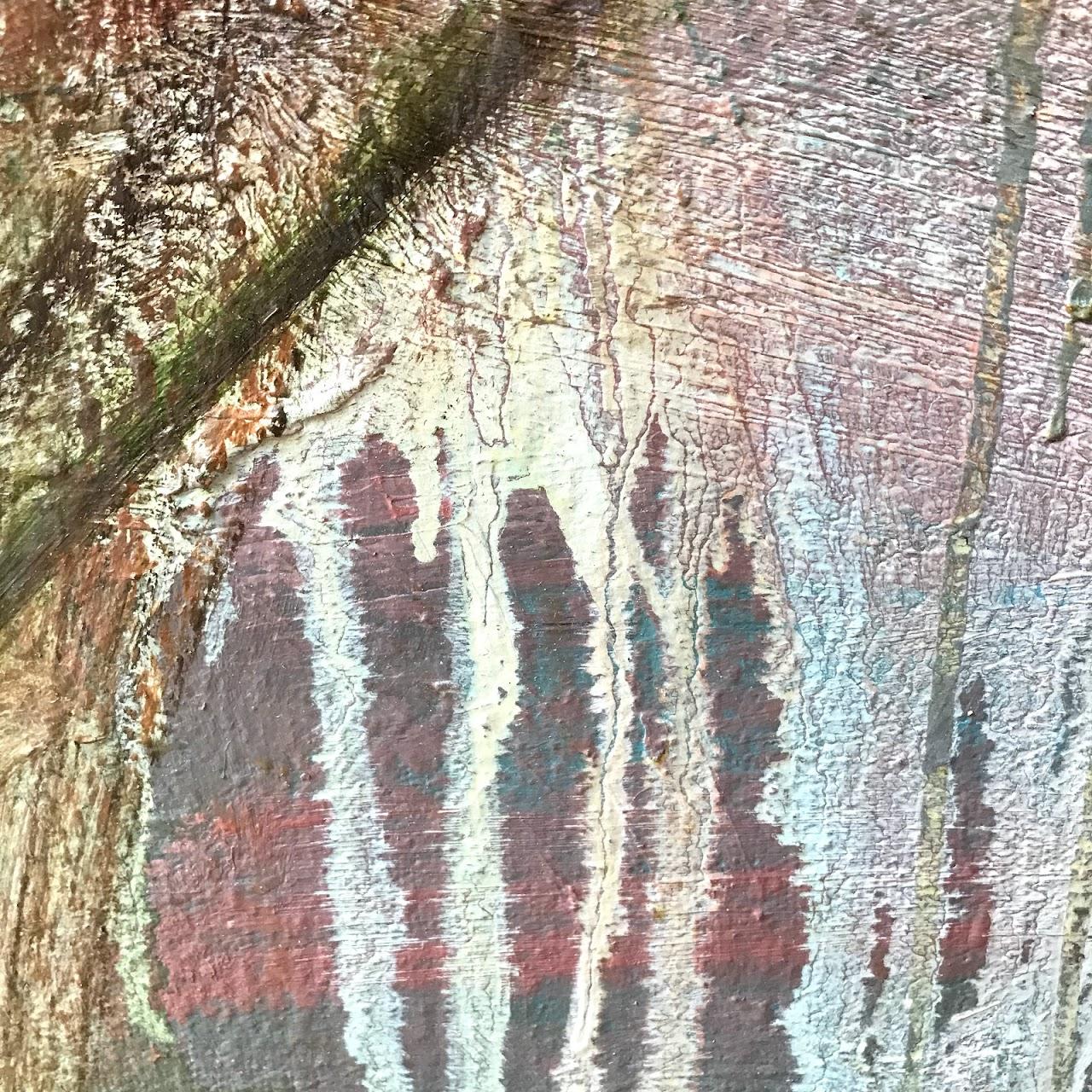 Susan Sharp Signed 'Quartet II' Large Scale Oil Painting