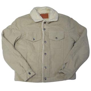 Sandro Corduroy Sherpa Jacket