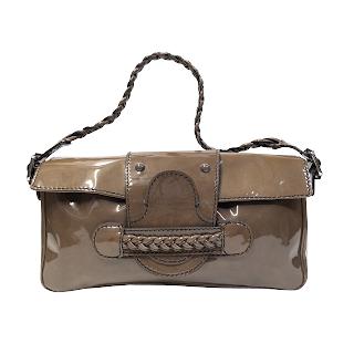 Valentino Patent Leather Shoulder Bag