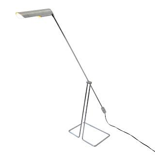 OMI Modernist Chrome Cantilever Floor Lamp