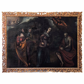 19th C. Large Scale Oil Painting