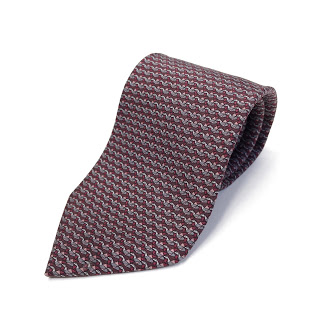Salvatore Ferragamo Silk Paper Crane Tie