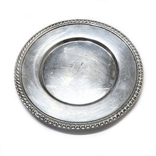Sterling Silver Baldwin & Miller Small Plate