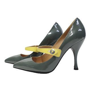 Marc Jacobs Patent Leather Mary Jane Pumps