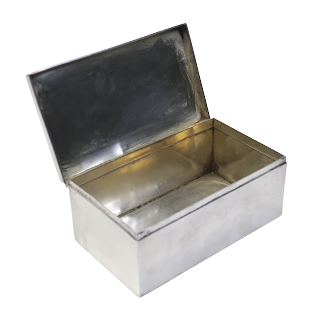 Sterling Silver  Hinged Box