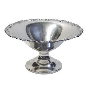 Sterling Silver Footed Dish