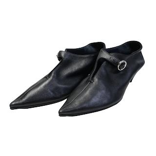 Céline Napa Leather Buckle Shoes