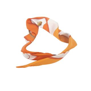 Hermès 'Clic Clac' Silk Scarf 45