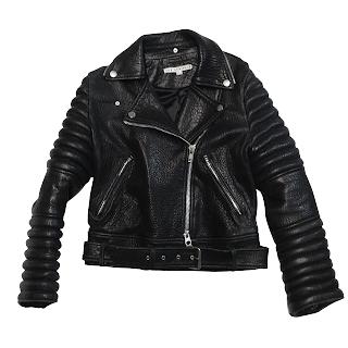 The Arrivals Lamb Leather Rainier Structured Moto Jacket