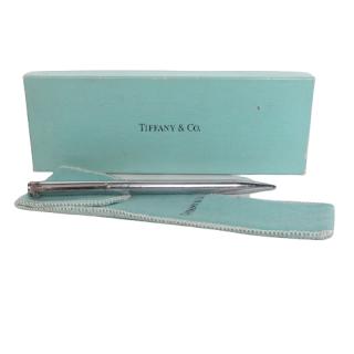 Tiffany & Co. Chrome T-Clip Pen