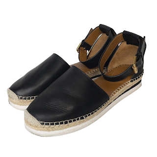 See by Chloé Leather Espadrille Sandals