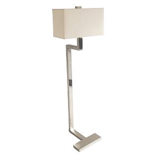 Brushed Chrome Floor Lamp