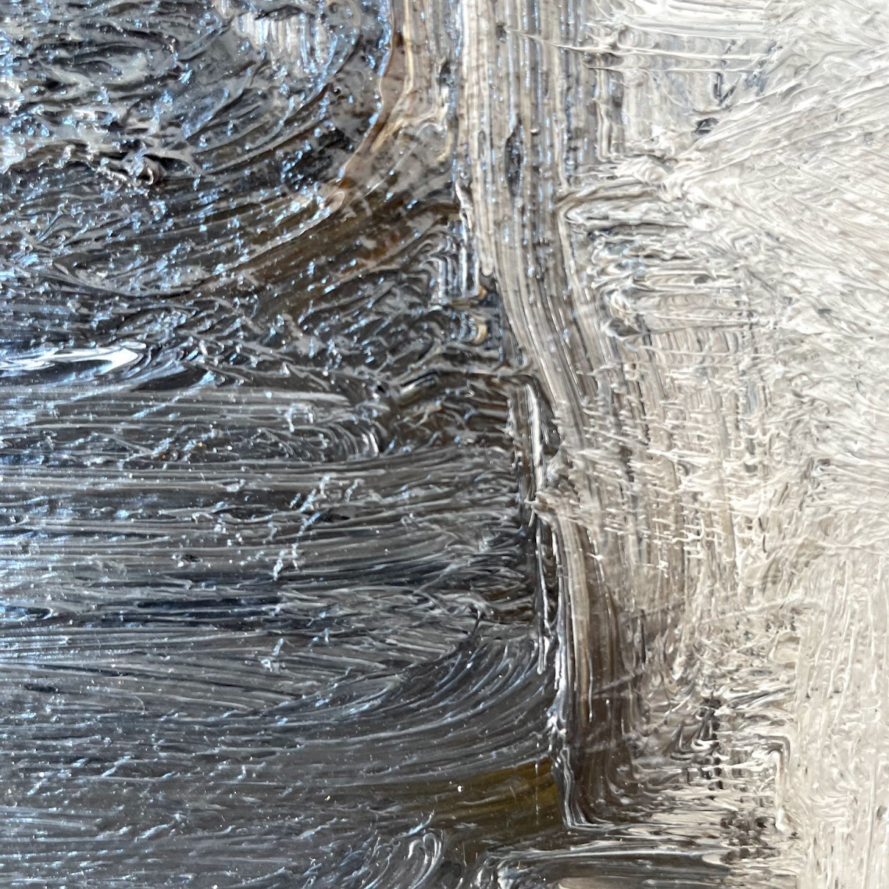 Signed Oversized Landscape Oil Painting