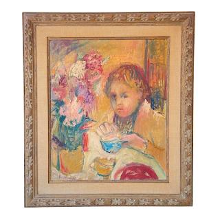 Contemporary Portrait  Oil Painting