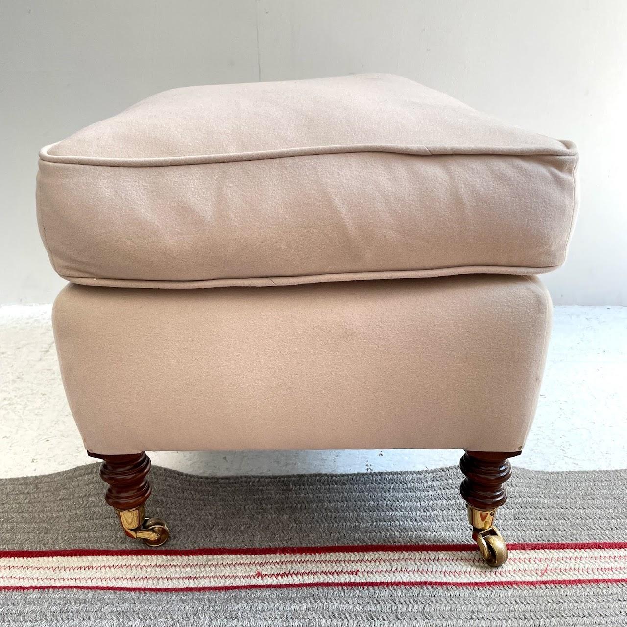 George Smith Chair & Ottoman Set