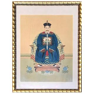 Chinese Antique Ancestor Portrait #2