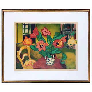 Guy Charon Signed Lithograph