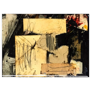 John Hobbs Signed Contemporary Mixed Media Abstract Painting
