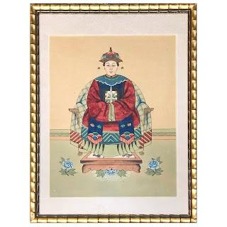 Chinese Antique Ancestor Portrait #1