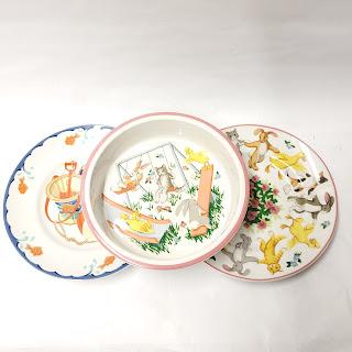 Tiffany & Co. Children's Dish Lot