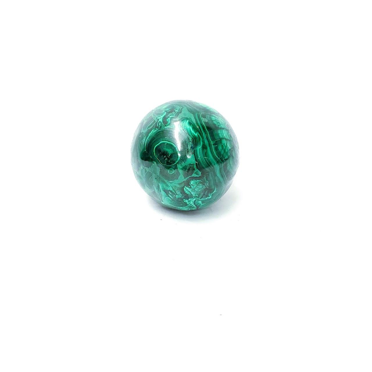 Malachite Solid  Stone Egg