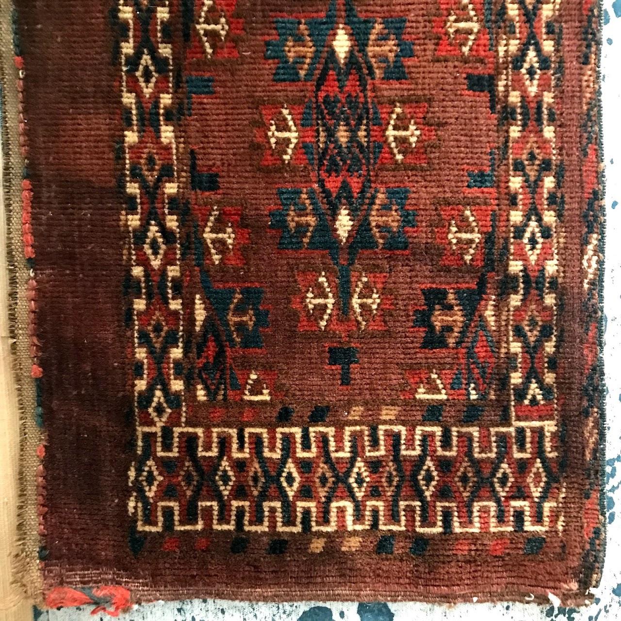 Afghan Wool Tribal Textile