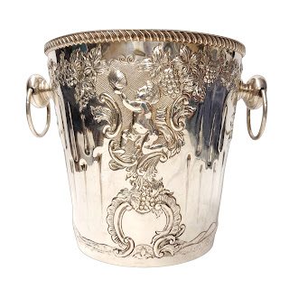 Cartier Sterling Silver Champagne Bucket