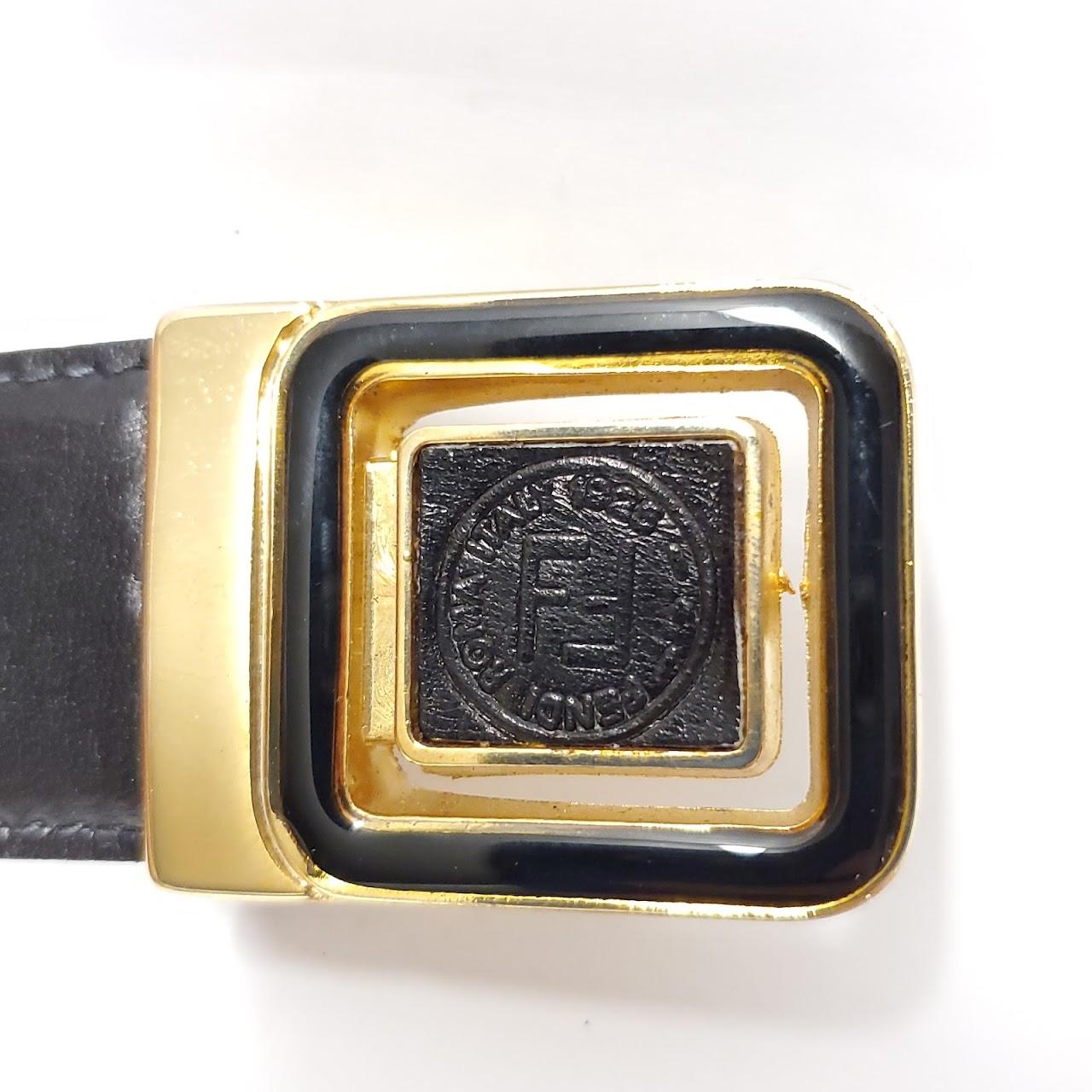 Fendi Vintage Reversible Belt