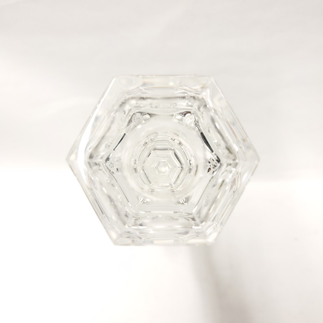 Baccarat Crystal Harcourt Candlestick Pair