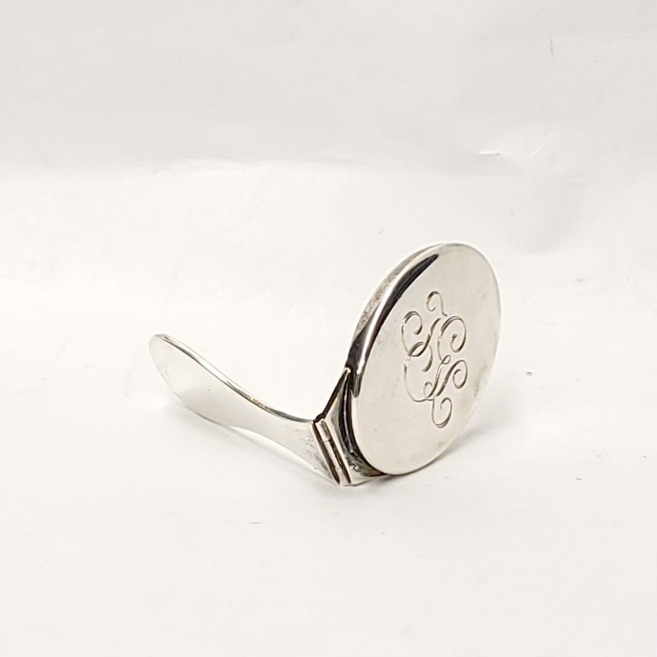 Tiffany & Co. Sterling Silver Folding Mirror