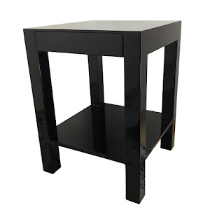 Contemporary Lacquered Accent Table