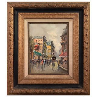 Jacques Marchand Signed Oil Painting