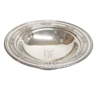 Sterling Silver JS & Co. Footed Bowl