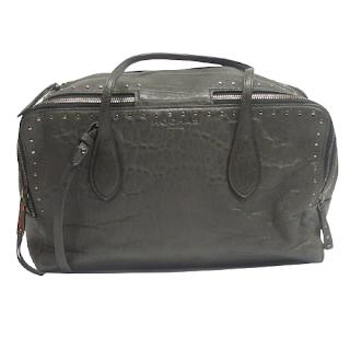 Rochas Paris Leather Shoulder Bag