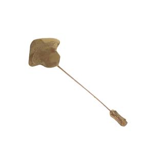 14K Gold Mushroom Stick Pin