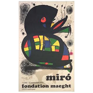 Joan Miró Fondation Maeght 1979 Exhibition Lithograph