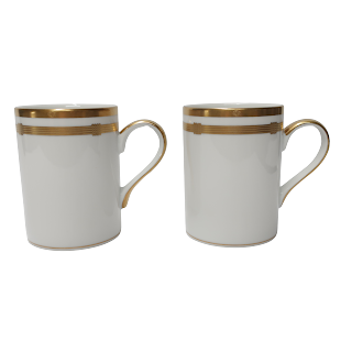 Christian Dior Porcelain Mug Pair