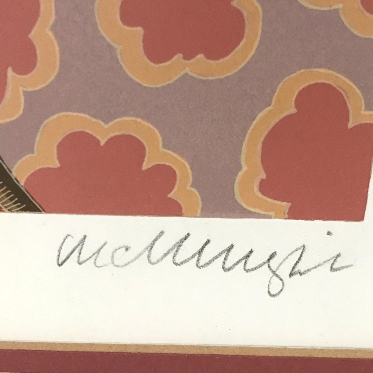 Thomas McKnight Signed Serigraph