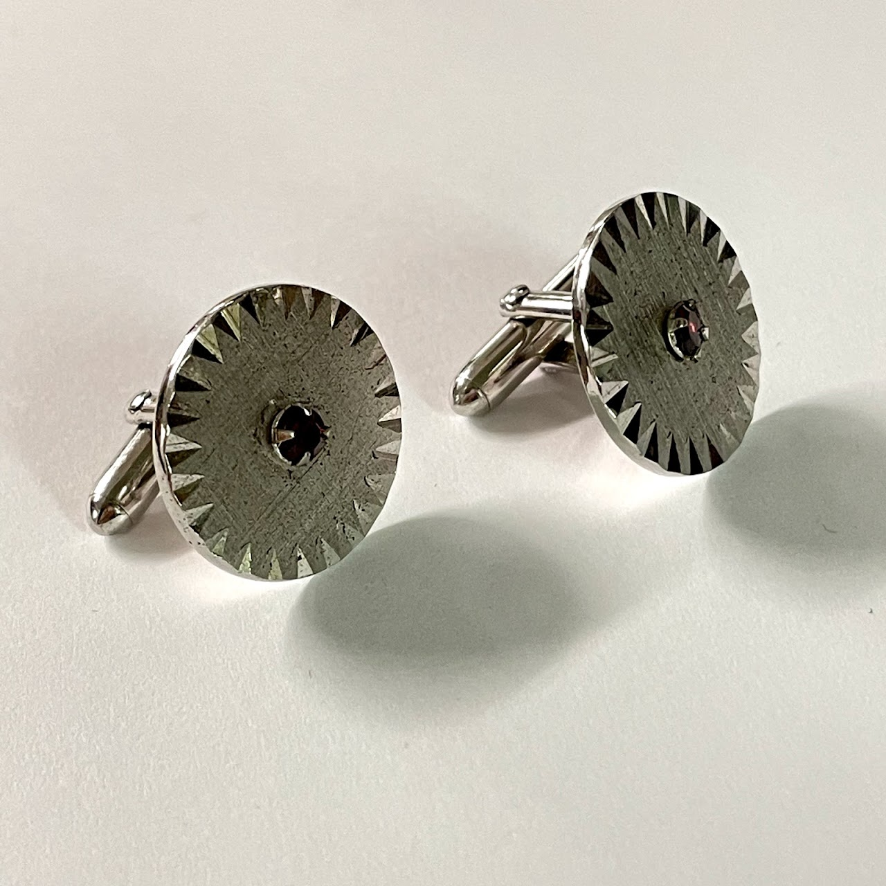 Sterling Silver Cufflinks Boxed  Set