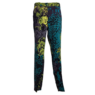 Gianni Versace Print Pants