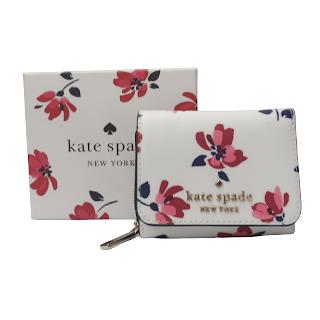 Kate Spade  Staci Tea Garden Wallet NEW
