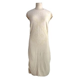 Alexander McQueen Honeycomb Knit Dress