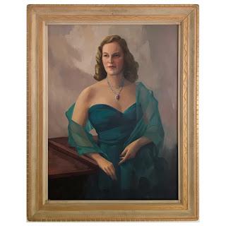 John W. Pratten Signed Oil Portrait Painting