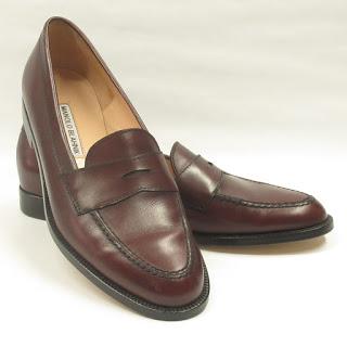 Manolo Blahnik Leather Loafers