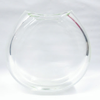 Signed Crystal Vase