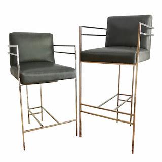 Arteriors Alice Counter & Bar Chair Pair